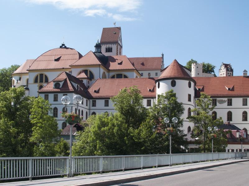 Hohe Schloss in der Altstadt von Füssen