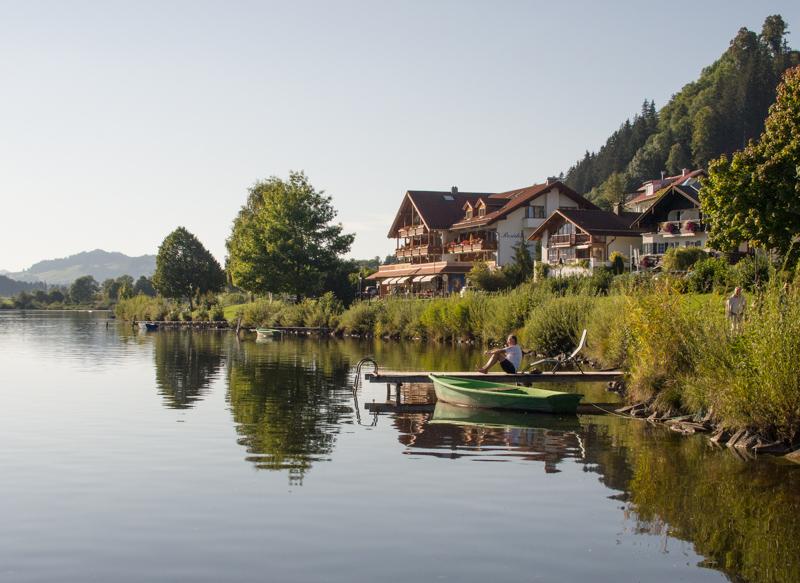 Hopfensee tour, Cycling tours in Füssen