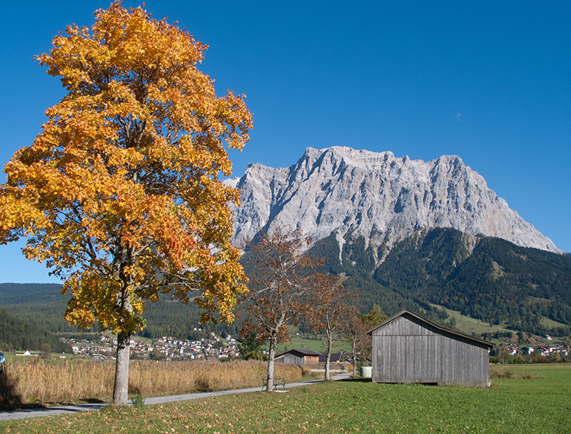 The highest mountain of germany