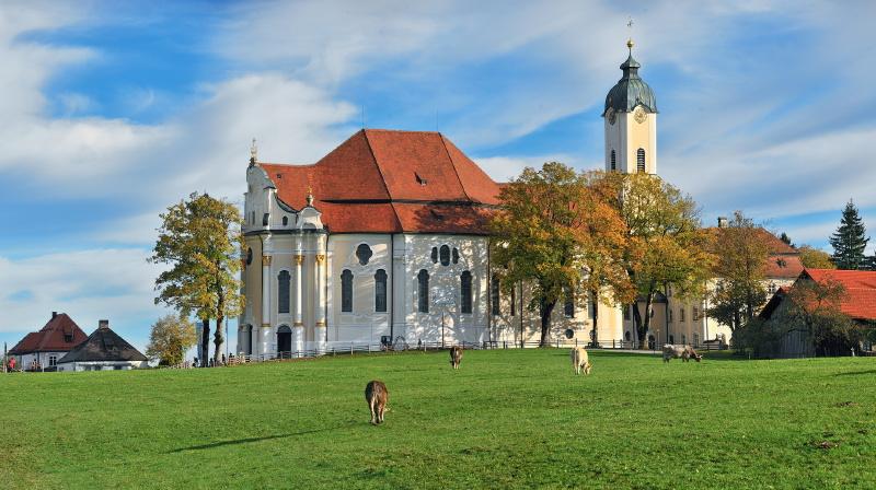 Wieskirche in Füssen im Allgäu