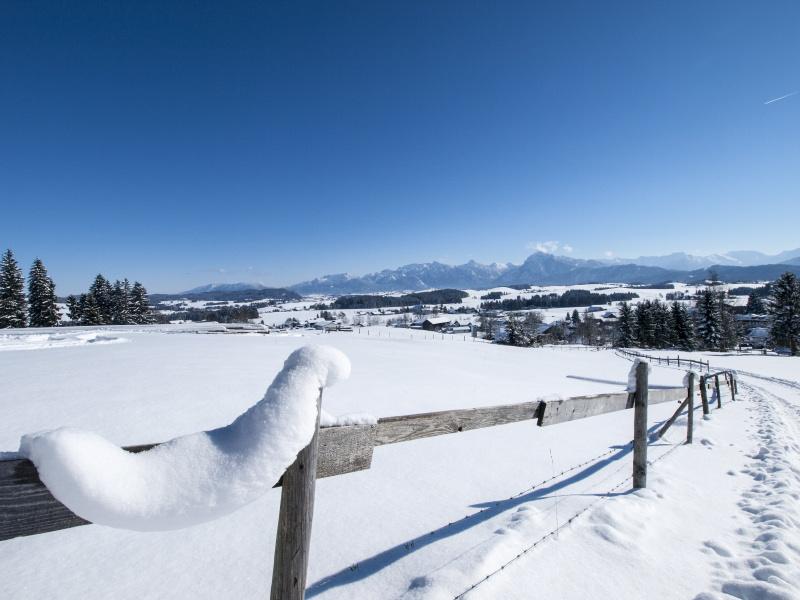Winter hiking in the Allgoi